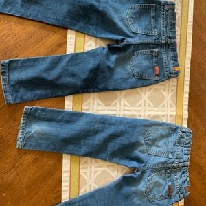 7 For All Mankind Bottoms - 4 pairs of 7 FAM kid jeans